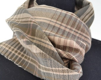 Hand-Woven Cotton Scarf