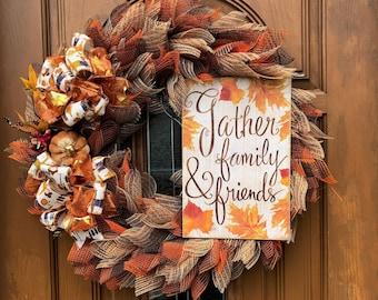 Fall Wreaths and Decor