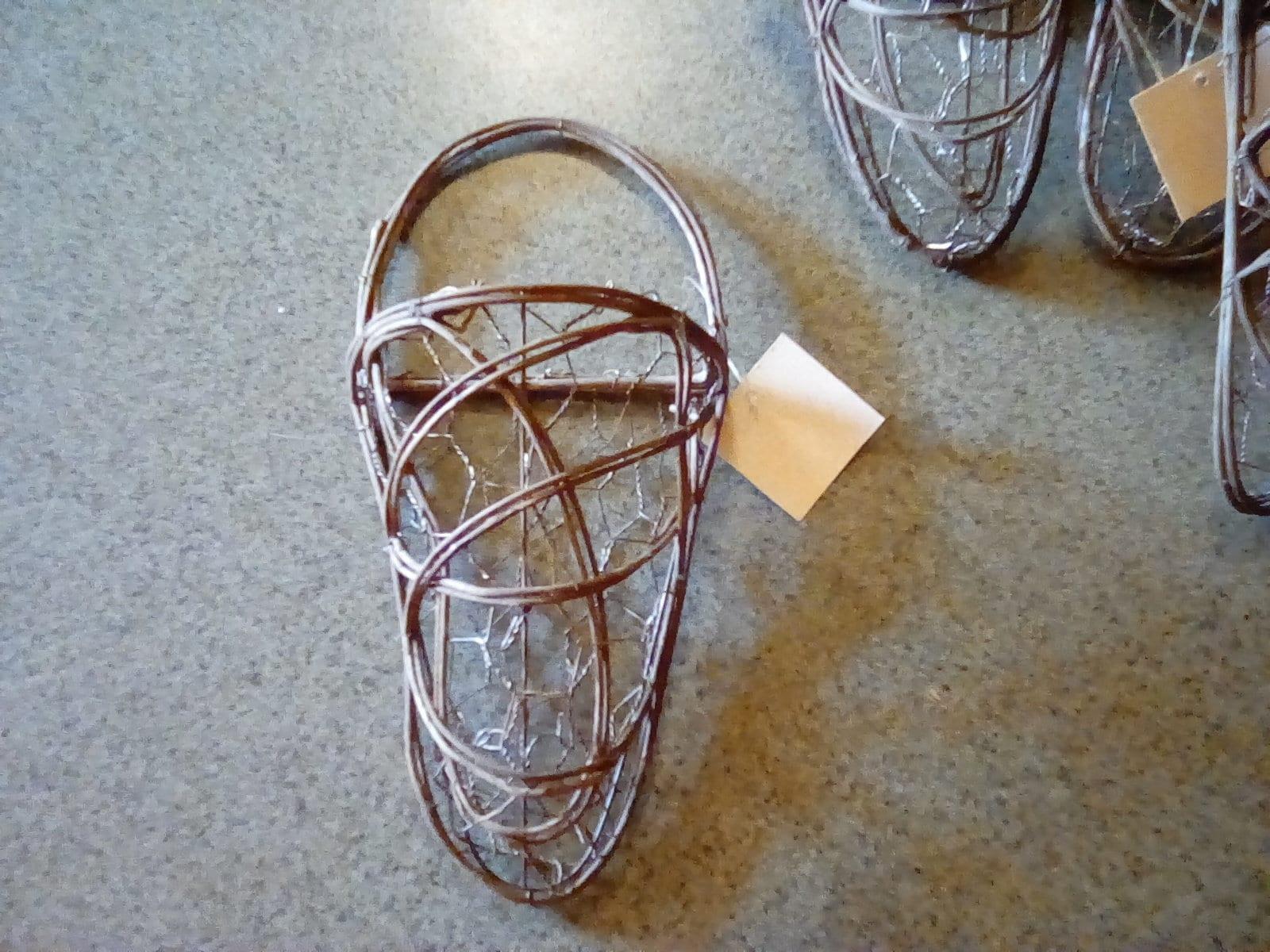 Grapevine Basket Grapevine Wire Basket Hanging Grapevine