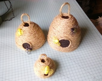 BEE HIVES/SKEP decor