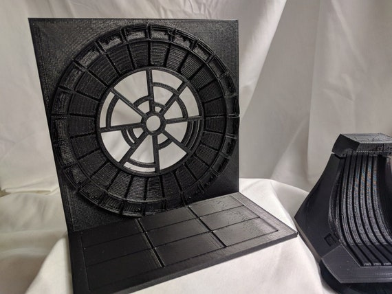 "Star Wars Imperial Throne Room Backdrop Death Star Destroyer Palpatine 6/"" 1:6"