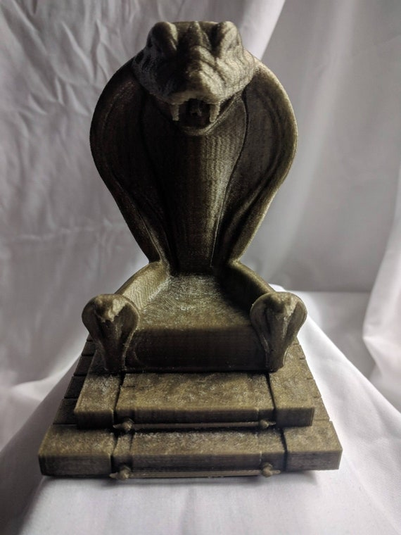 Gi joe 3d printed Throne for cobra commander,destro for 6 inch figures