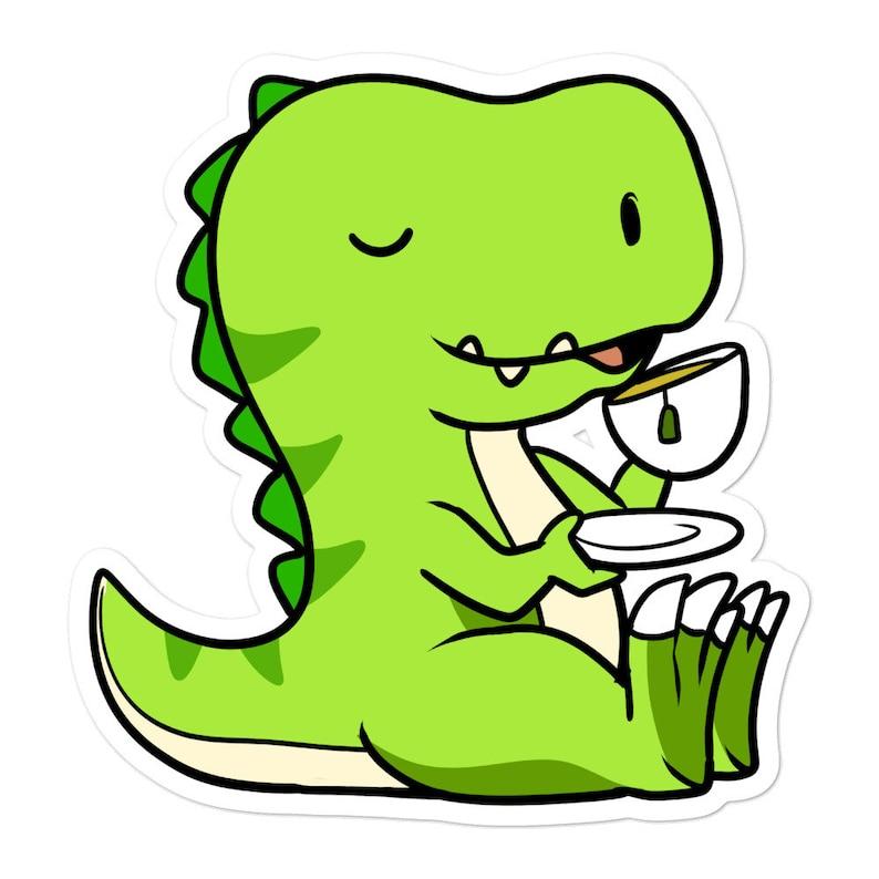 teerex aufkleber lustige süße dinosaurier trex pun  etsy