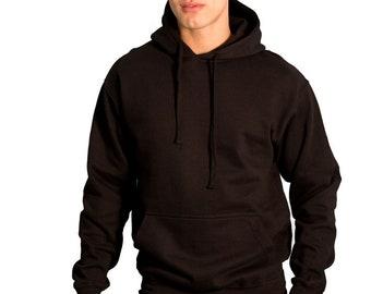 Cute Fashion Plain Blank Men Women Pullover Hoodie 975e40a15b