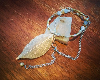 Silvery Gold Necklace