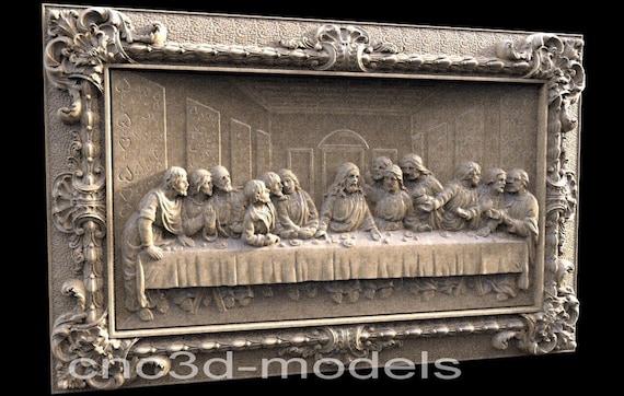 3D STL CNC Model History file for CNC Router Carving Machine Printer Relief Artcam Aspire Cut3d