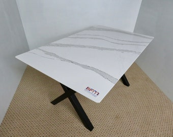 Marble Style Dining Table