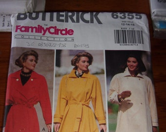 Patron BUTTERRICK vintage , pattern coat and skirt size 34/36/38