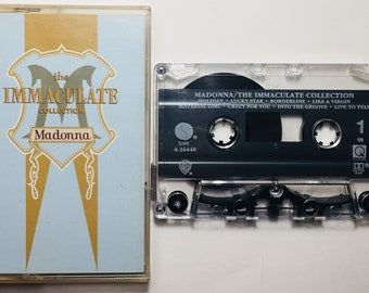 Madonna : The Immaculate Collection (Cassette Tape)