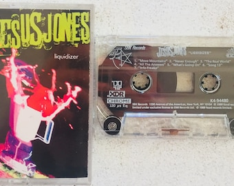 Jesus Jones : Liquidizer (Cassette Tape)