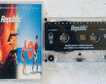 New Order : Republic (Cassette Tape)