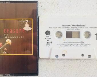 Erasure : Wonderland (Cassette Tape)