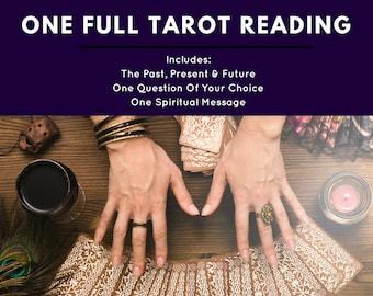 One Full Psychic Tarot Reading