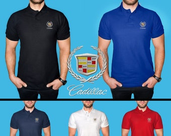 Cadillac Logo Shirt Etsy