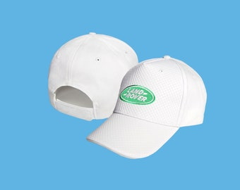 458c26e3434 CARBON Land Rover White Baseball Cap Embroidered Auto Car Logo Adjustable  Hat Basecap Unisex Mens Womens Defender Offroad Range Gift