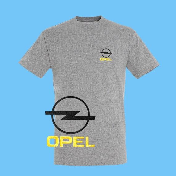 OPEL T Shirt brodé coton noir rouge bleu blanc cadeau vert Auto voiture Logo Tee Fans cadeau blanc hommes femmes vêtements unisexe d'anniversaire 29230a