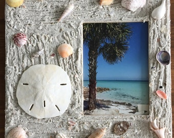 Beachy Picture Frame