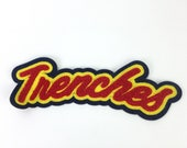50 High Quality wholesale custom made lovely embroidery chenille patches manufacturer from China, chenille patch for clothing