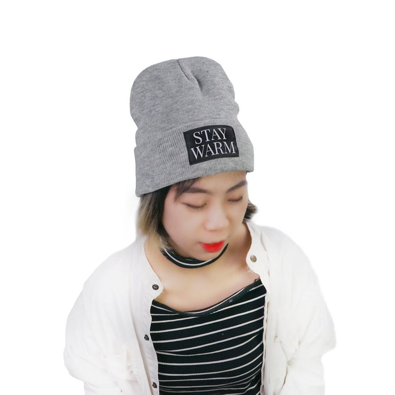 f8e1916f1509a 100pcs custom beanie hat with your logo, Personalised Embroidered Beanie  Hat, Pullover Custom Printed Hat Unisex Secret Santa Gift Pintrest