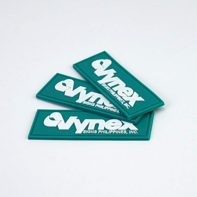 PVC Rubber Patch Badge PVC custom patches 3D or 2D 50  Custom rubber patch logo Custom pvc rubber patch