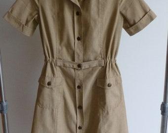 Dress style beige Safari jacket