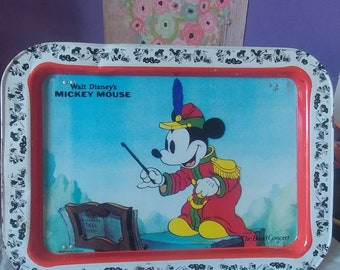 Mickey Mouse Vintage Tray