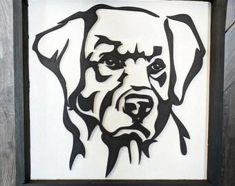 Aaron the Black Labrador