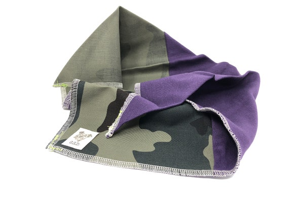 wholesale outlet wholesale online best service Purple Sweats/Camo-Twill Bandanga