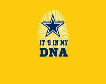 Dallas Cowboys DNA svg,dxf,png / Dallas Cowboys DNA clipart