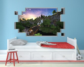 Minecraft Wall Decal : minecraft decals for walls - www.pureclipart.com