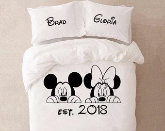 Disney Bedding Etsy