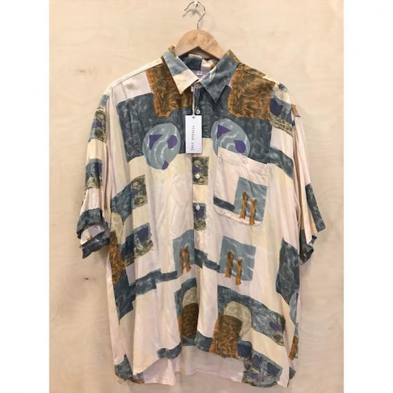 patterned vintage shirt