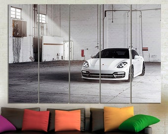 Porsche print Porsche poster Porsche canvas Porsche photo Porsche wall decor Room decor Porsche wall art Sport car canvas Large canvas Gift