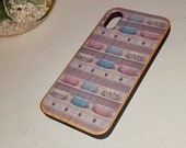 Vintage Pyrex Original Artwork Pretty Maids All In A Row Bamboo phone Case For Iphone And Samsung Eco Friendly