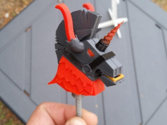 Fortnite Pick Evil Unicorn Thunder Crash 3d Printed Etsy