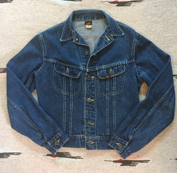 Vintage 1970's Union Made Lee Riders denim jacket - image 3