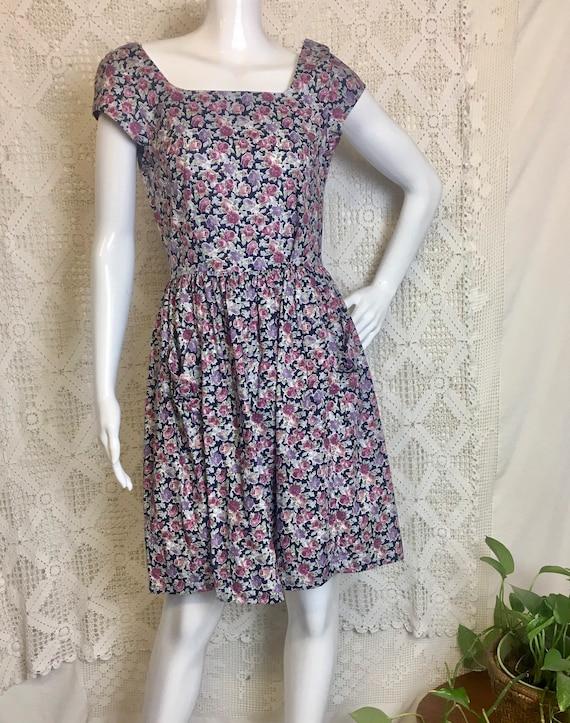 Vintage 1980's little Laura Ashley floral dress