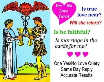 Yes no tarot | Etsy