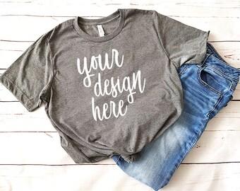Gray T Shirt Mockup Clothing Mockup Free Psd Mockups Find