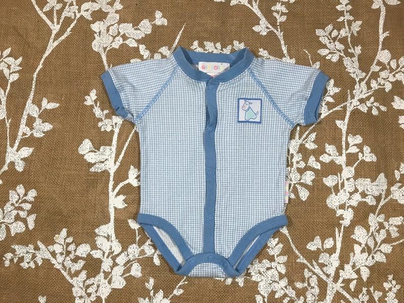 df39db053 0-6m 90s Vintage Gymboree Baby Onesie Size Newborn 0 3 6 | Etsy