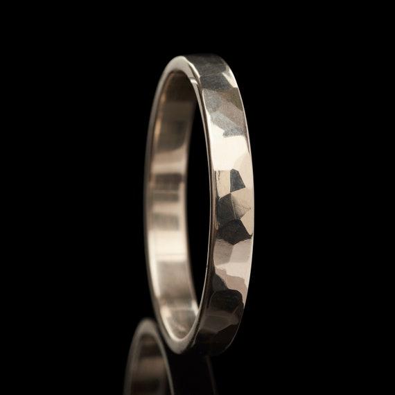 925 plata esterlina sólida plana 3 Mm Anillo de bodas MIDI o pulgar tamaño del anillo H A Z