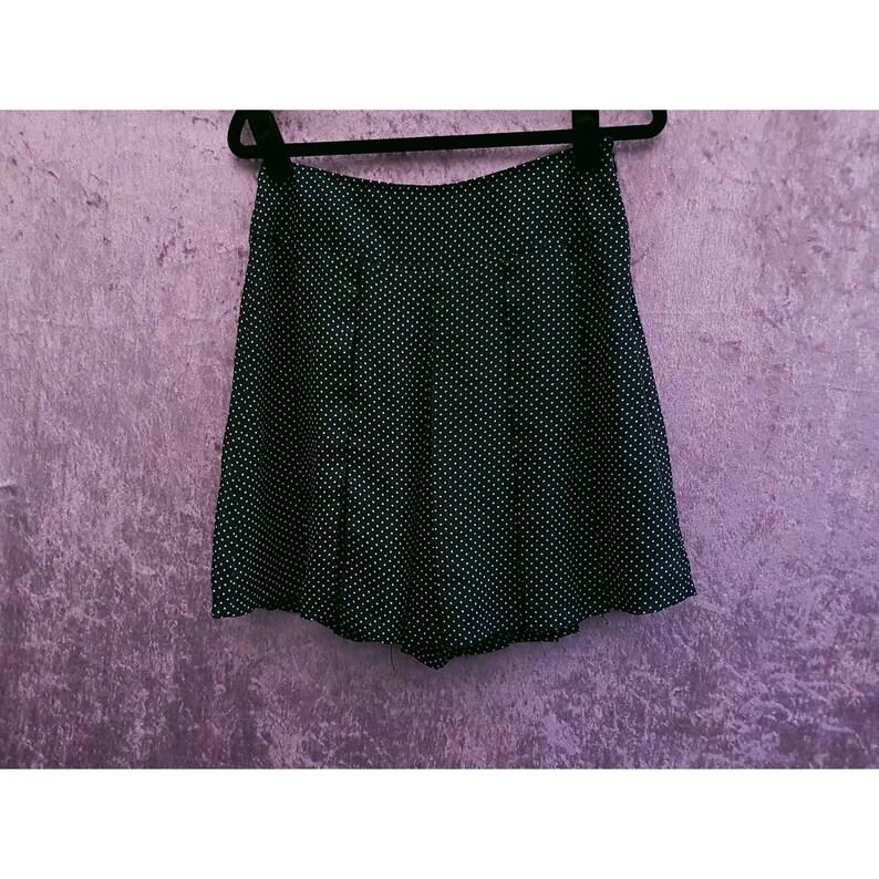 Vintage Limited Edition By Atsuro Tayama High Waist Polka Dot Print Shorts UK 10