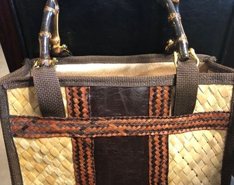 Handcrafted Straw Bag