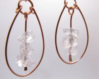 copper paddle hoops