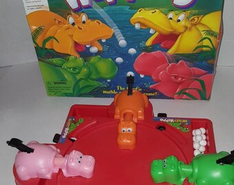 1994 Hungry Hippos Board Game