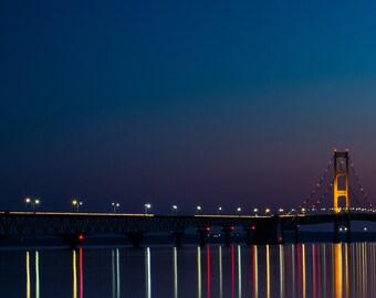 Bridge Life I / Mackinac Bridge Michigan