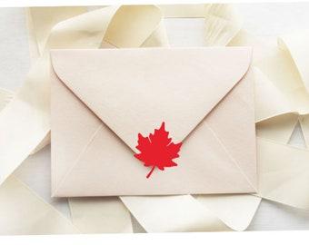 leaf envelope seals etsy