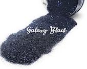 Galaxy Black Metallic Fine Glitter
