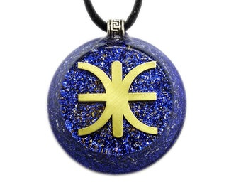 Orgone Pendant - Skyfall - The Mystery of Delphi - The Unique and powerful custom made upgraded orgone pendant (5G & EMF block)