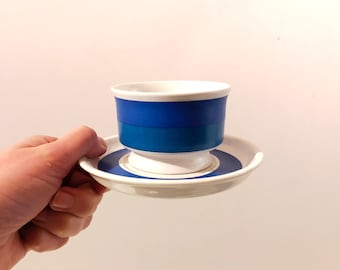 Vintage Arabia Finland Spectri Mocca Cup designed by Ulla Procope